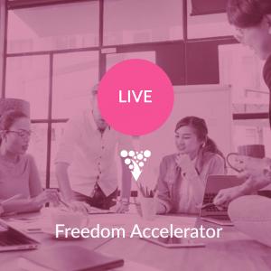 Freedom Accelerator workshop for creative entrepreneurs