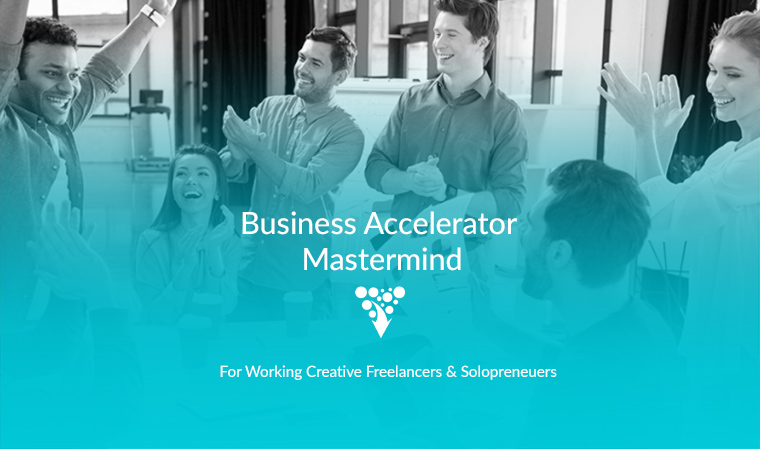 Business Accelerator Mastermind for creative entrepreneurs hosted by Business of Creativity