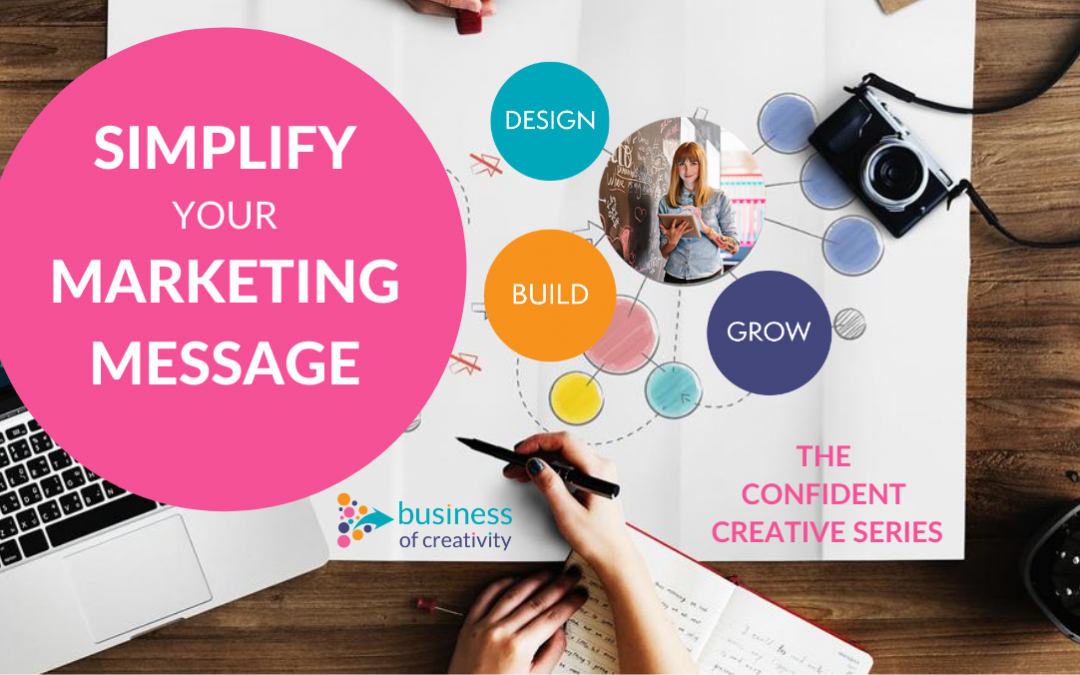The Confident Creative Series – Simplify Your Marketing Message