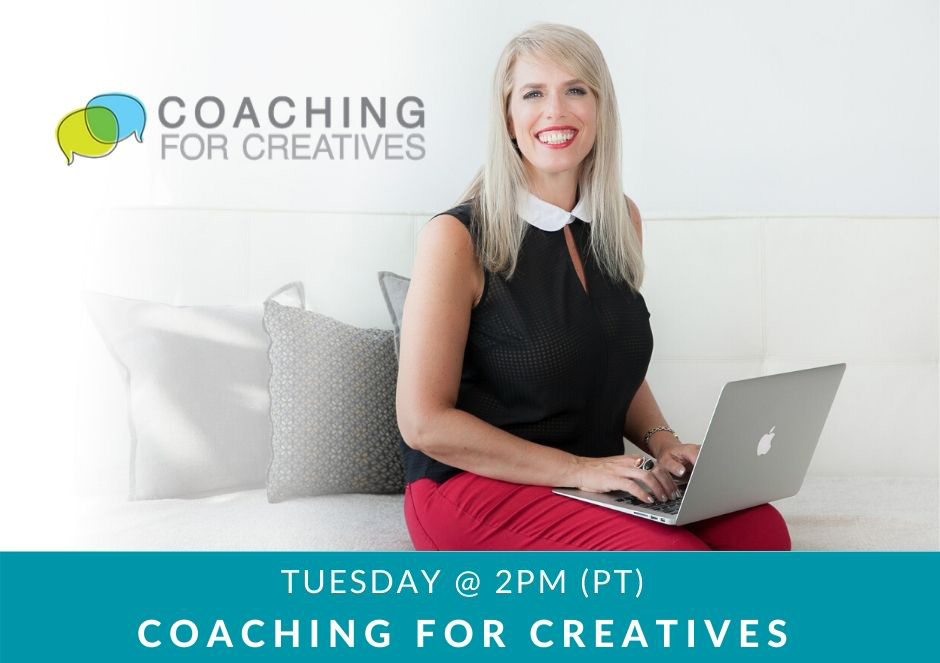 Coaching for Creatives banner image with host Aura McKay, Founder of Business of Creativity