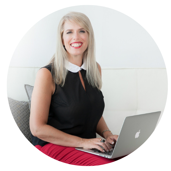 Aura McKay, founder of Business of Creativity With Laptop Circle