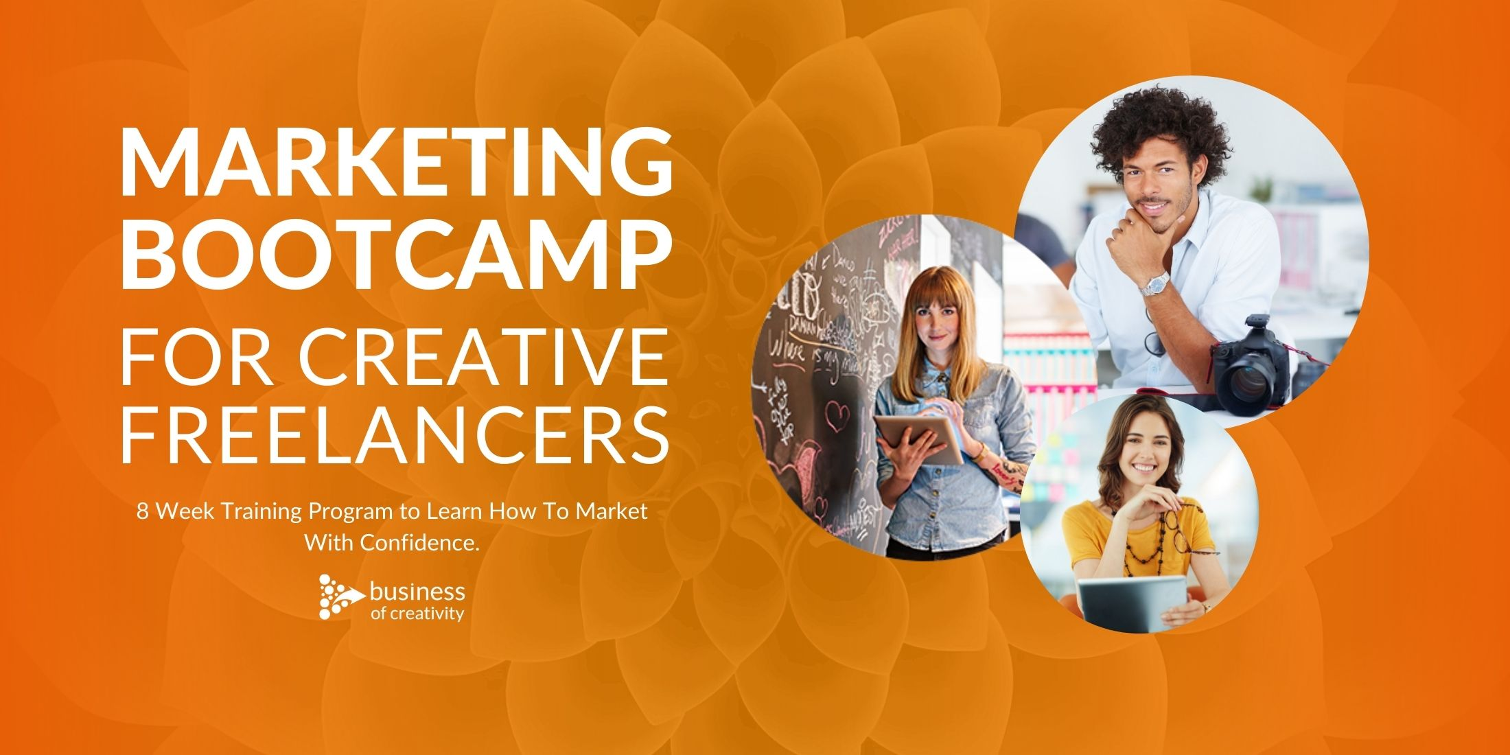 Marketing Bootcamp For Creative Freelancers Banner